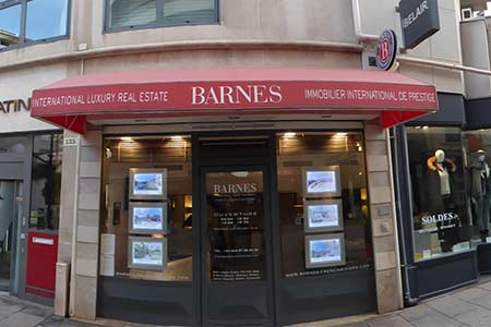 Luxury real estate agency BARNES CANNES