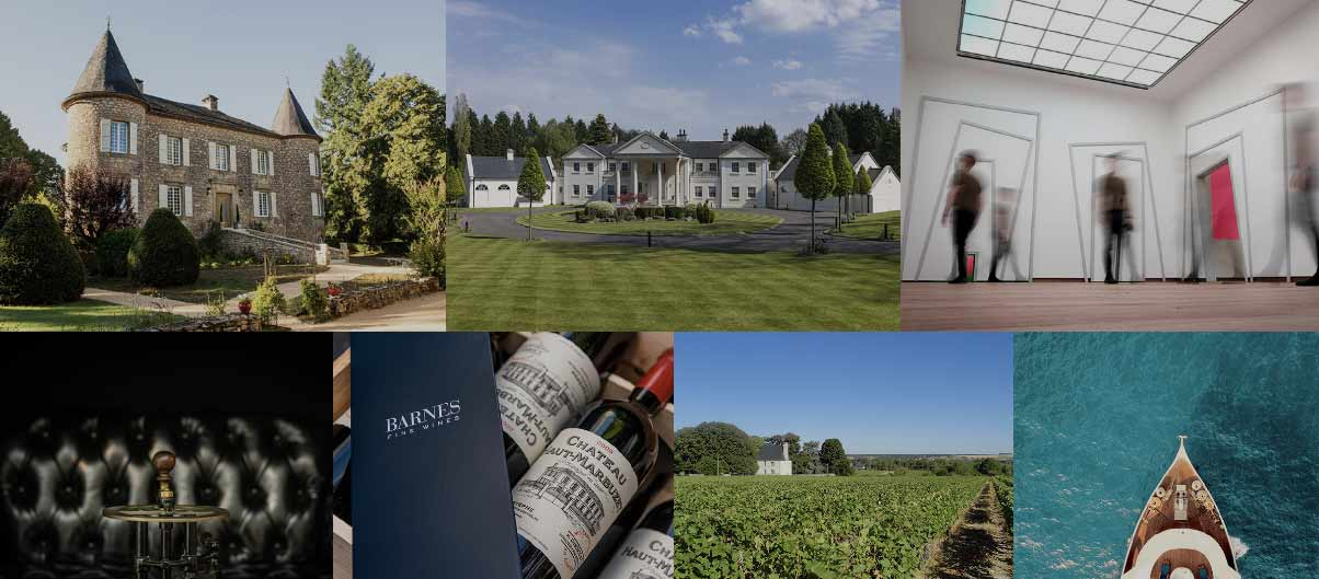 Barnes welomes you for the First International Barnes Luxury Property show