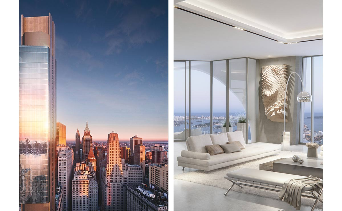 Immobilier de luxe : New York